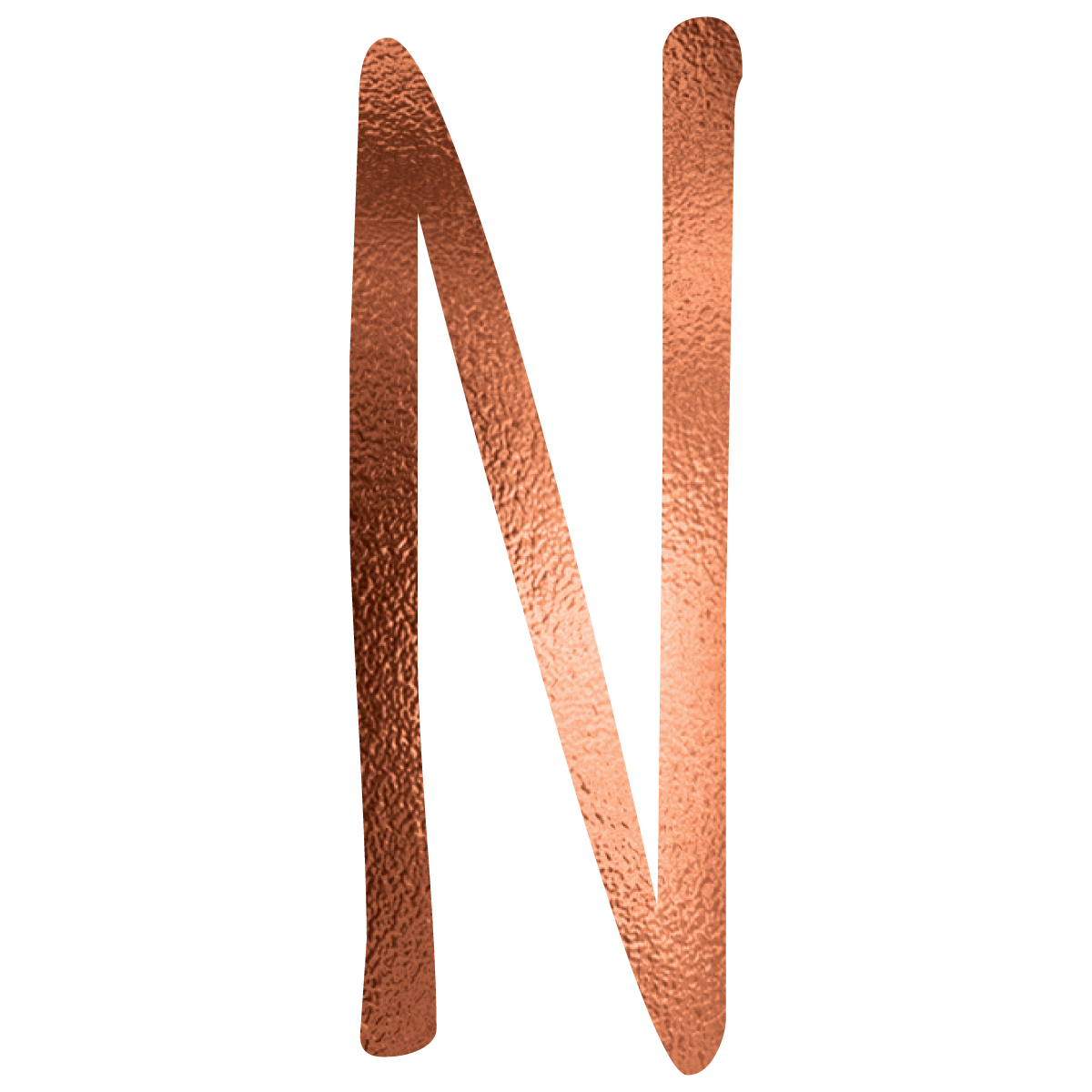 Alphabet_Am_Foil_Copper_Cap_N
