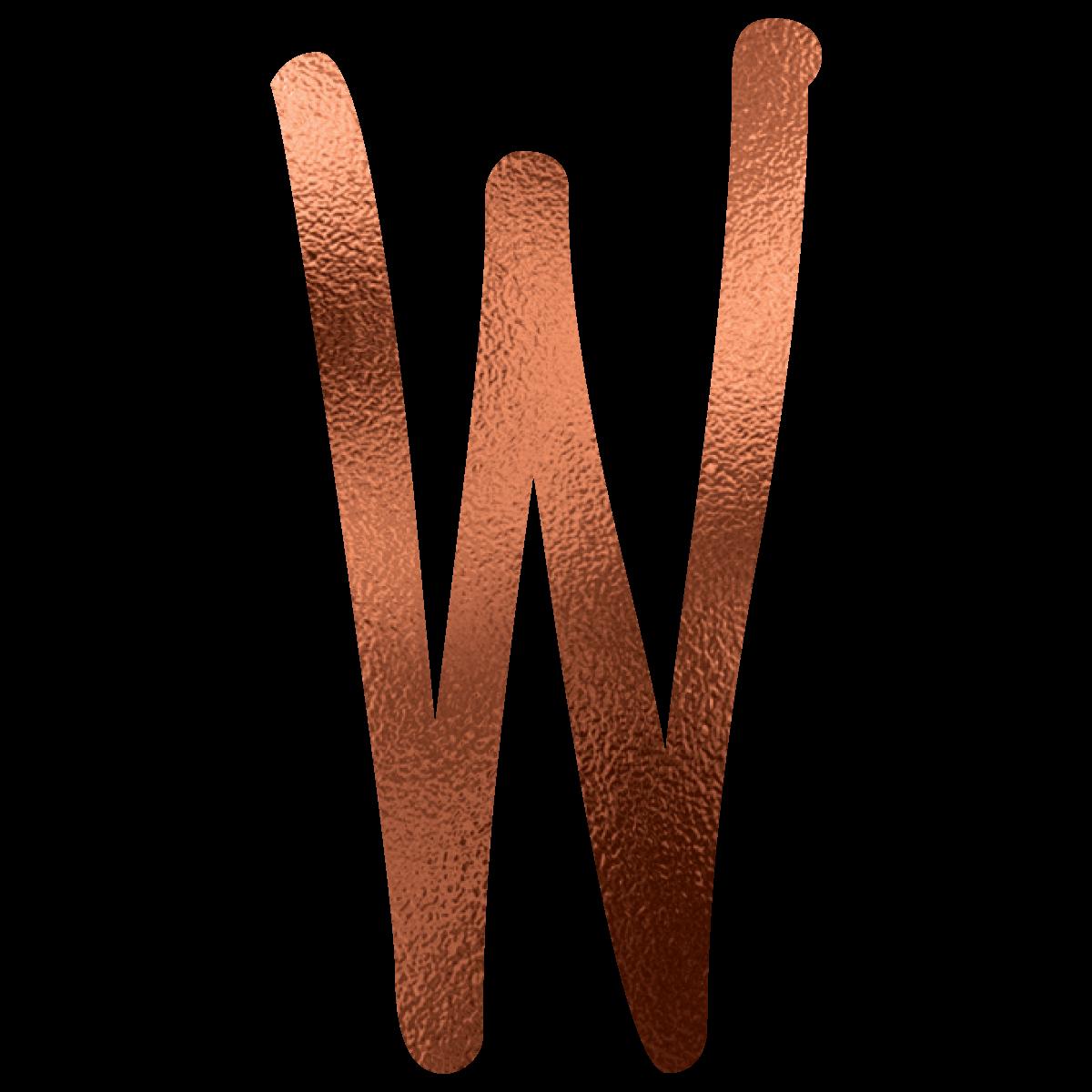 Alphabet_Am_Foil_Copper_Cap_W