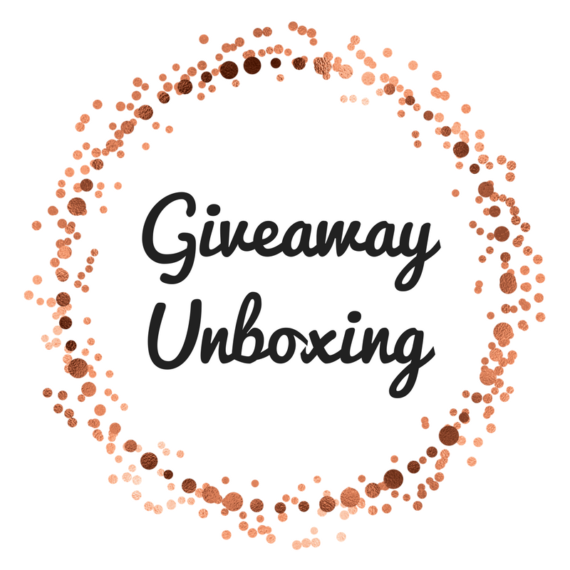 Giveaway Unboxing!!