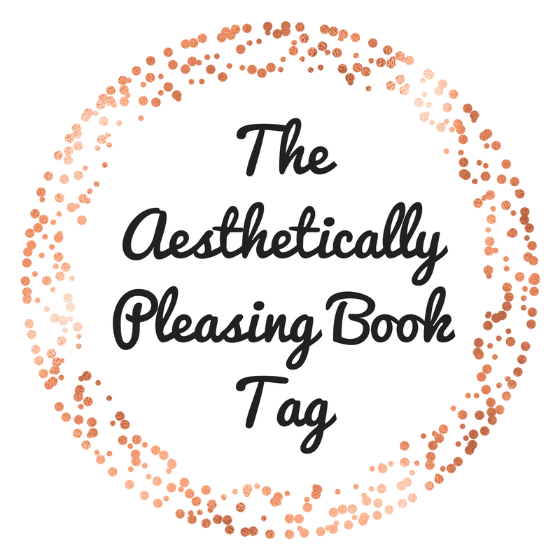 The Aesthetically Pleasing Book Tag