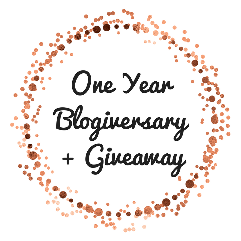 One YearBlogiversary+ Giveaway