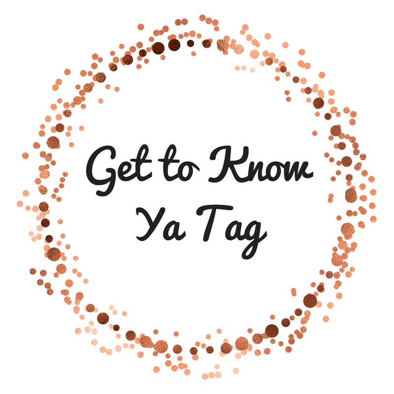 Get to KnowYa Tag