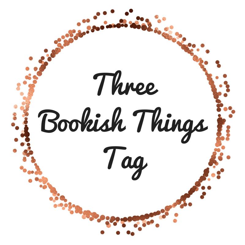 ThreeBookish ThingsTag