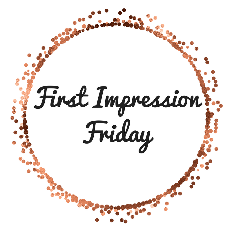 First Impressions Friday- Eat A Peach