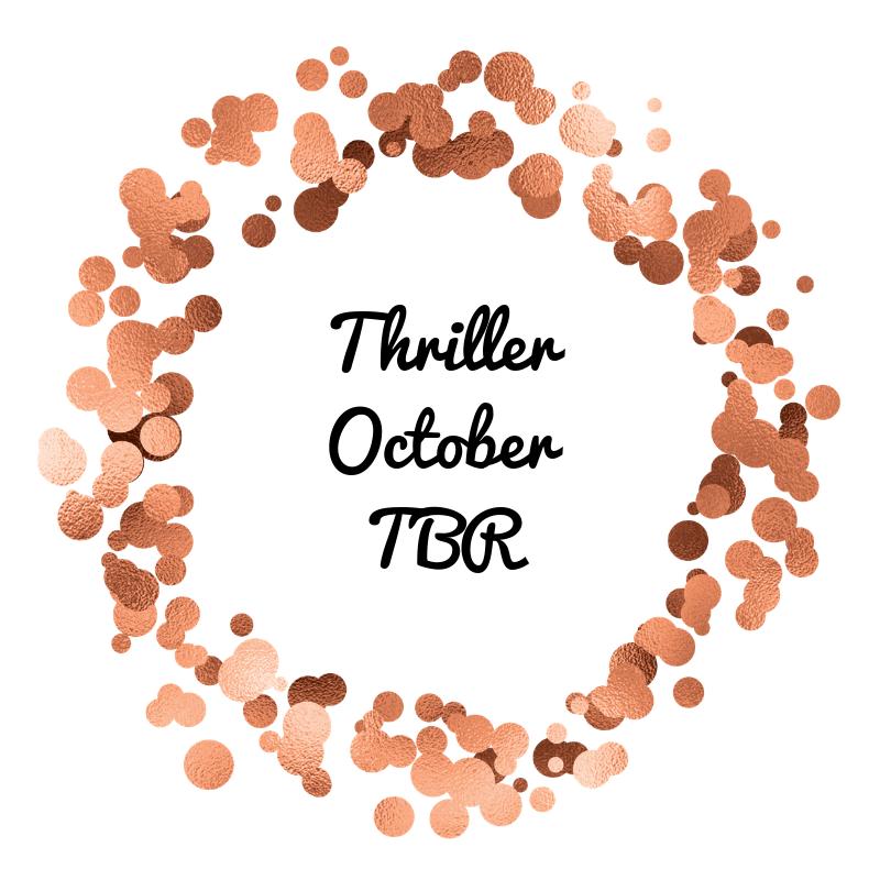 Thriller October TBR