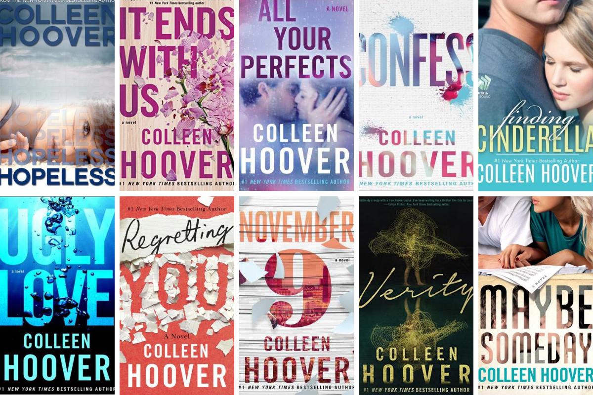 Everybody should read at least one Colleen Hoover book | by Nusrat Nisa |  Books Are Our Superpower | Medium