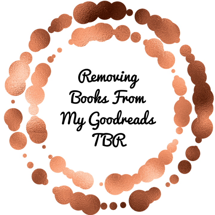 Removing Books From My Goodreads TBR