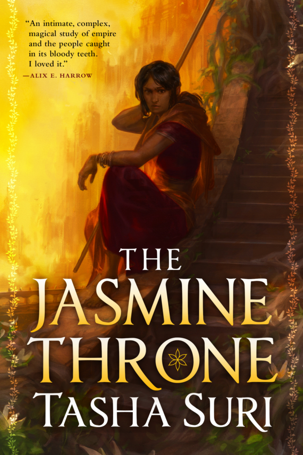 The Jasmine Throne Book Cover