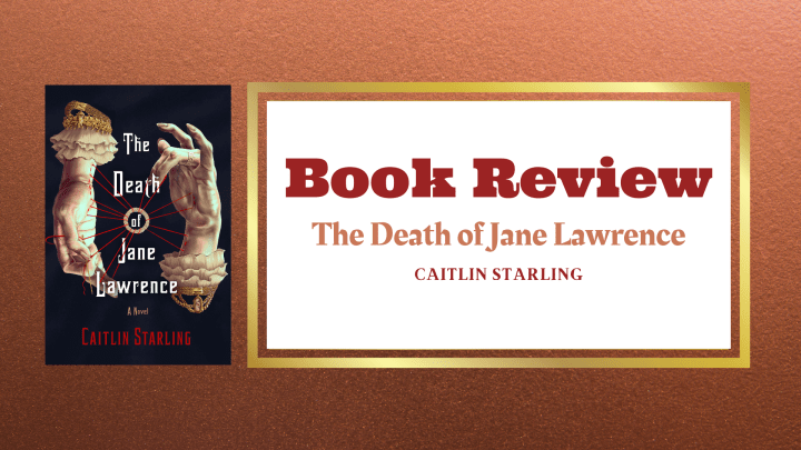 Review- The Death of Jane Lawrence